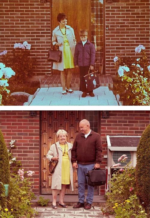 父の50年前と今の写真01