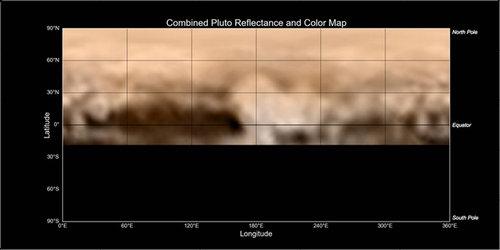 ニューホライズンとハッブル望遠鏡の冥王星02