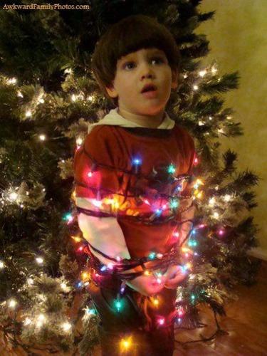 クリスマスの変な写真10
