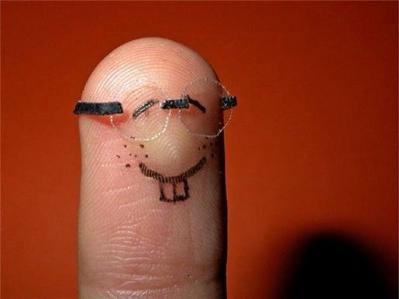 指を擬人化06