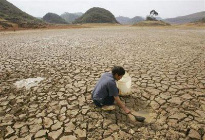 中国を襲う大干ばつ07
