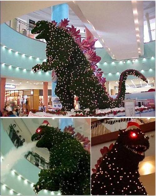 インパクトあるクリスマスツリー01
