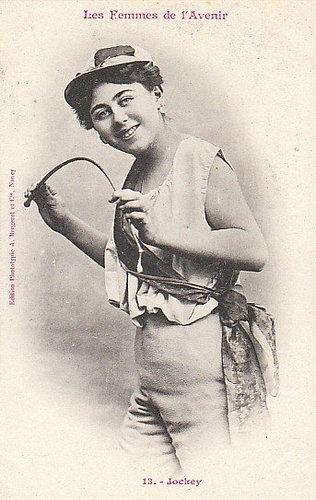 100年前に想像した未来の女性像13