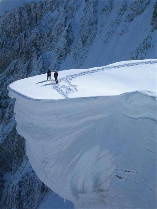 雪山の写真01