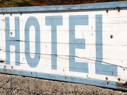 ホテルの張り紙00