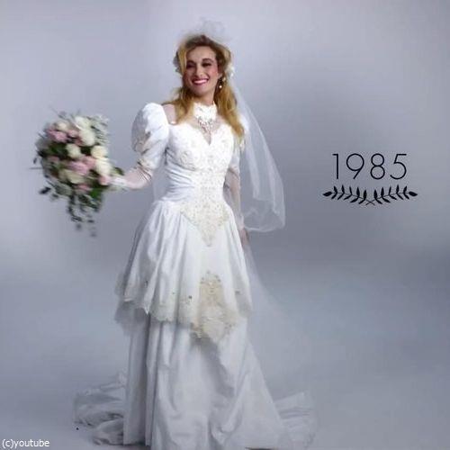 ウェディングドレスの変化08