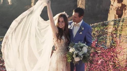 高所恐怖症には絶対無理!空中結婚式04