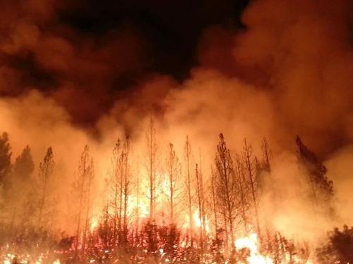 カリフォルニアの火災