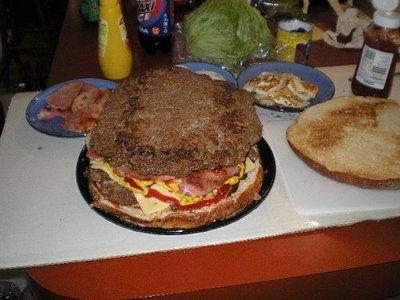 巨大ハンバーガー08