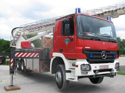 クロアチアの消防車