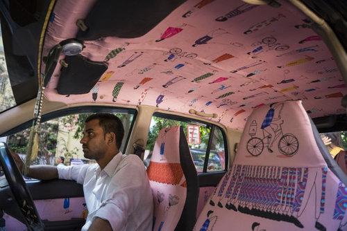 インドのタクシー15