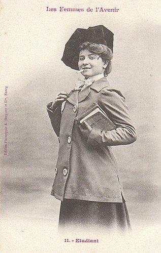 100年前に想像した未来の女性像11