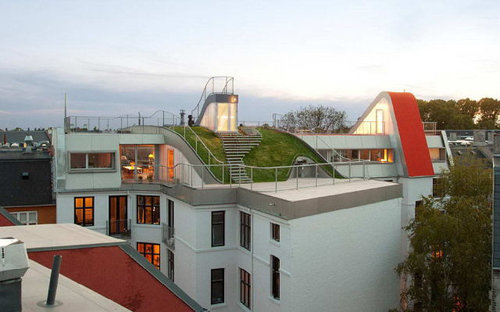 デンマークの屋根の上の遊び場13