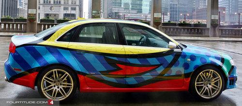 17アートな自動車