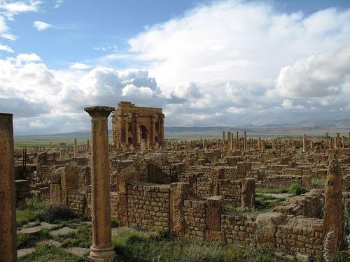 アフリカにあるローマ時代の群居地03