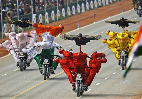 インドの軍事パレード05