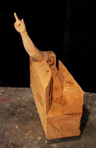 木彫りアート10