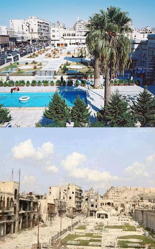 シリアの当時と今01