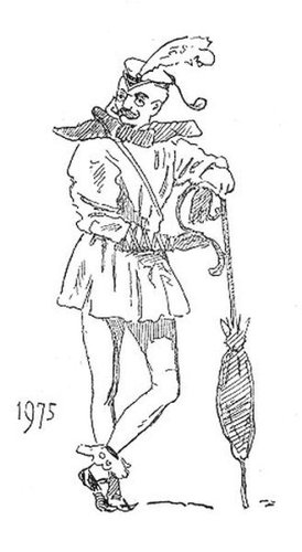 19世紀に想像した20世紀のファッション19
