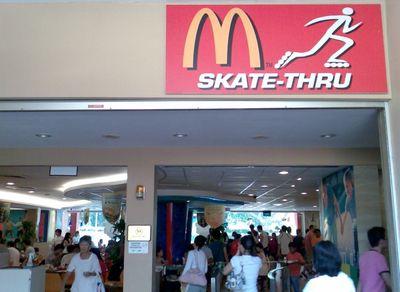 スケートスルー
