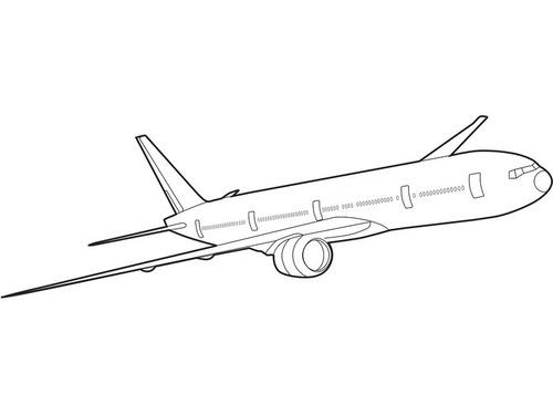 ハワイ行きの飛行機でボーイング777のパーツが落ちた