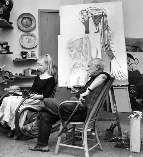 ピカソの肖像画のモデル02