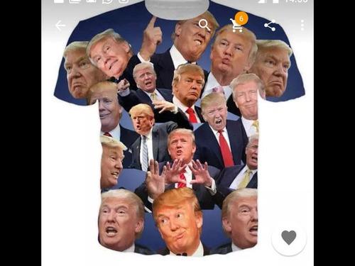 中国からトランプ大統領Tシャツを購入したら00