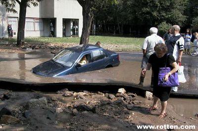 女性ドライバーの事故・失敗・下手12