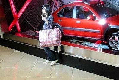 中国女性のバッグ01