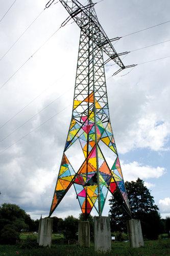 鉄塔を真下から11