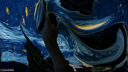 水面に描くゴッホ07
