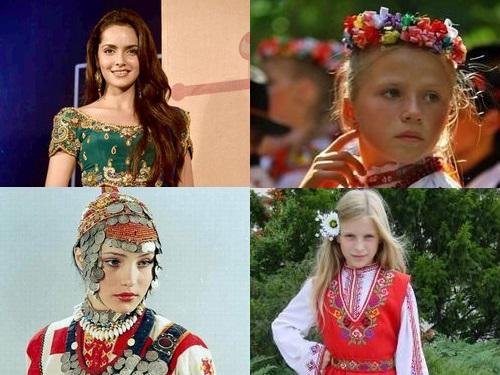 00民族衣装を着た世界の美女