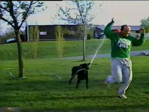 ホースと犬05