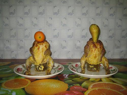 ロシア流の料理デコレーション08