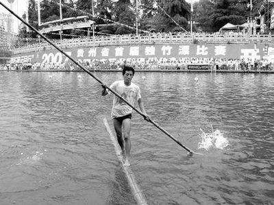 竹1本で川下り01