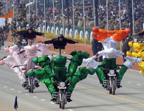 インドの軍事パレード06