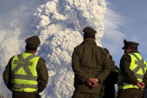 チリのプジェウエ火山06