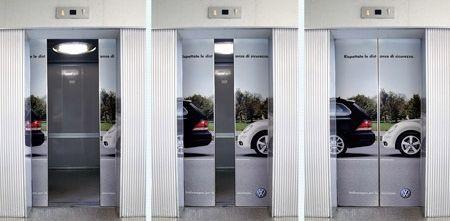 エレベーター広告09