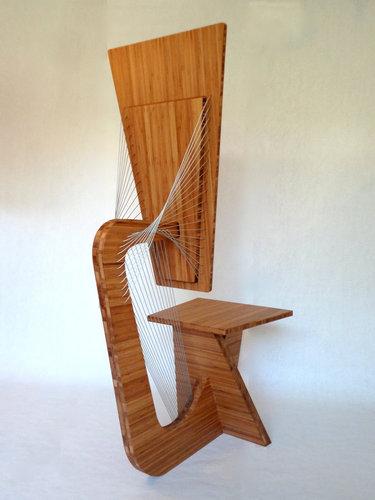 張力を使った家具10