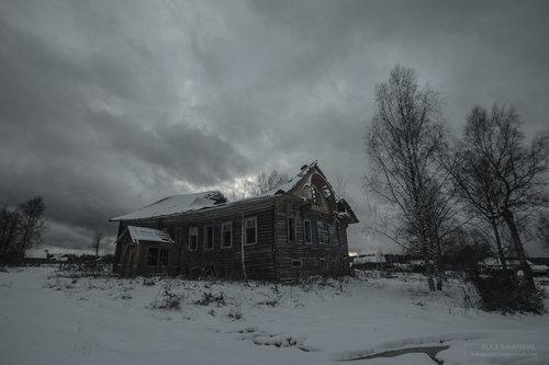 ロシアの廃村18