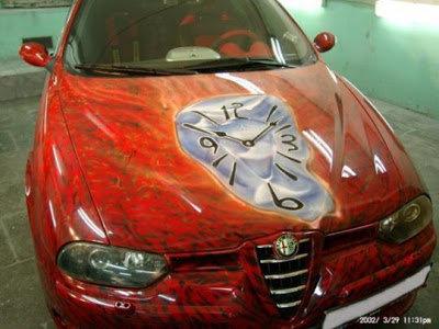 13アートな自動車