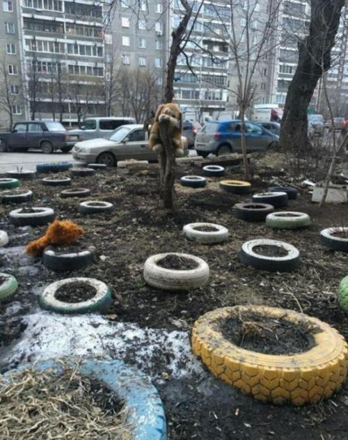 ロシアの遊具、手作り編10