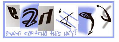 どう見ても読めないCAPTCHAその3