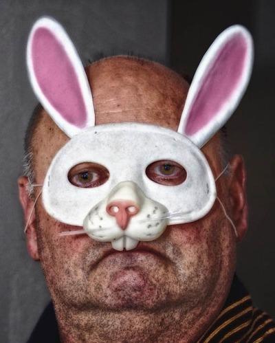 残念なウサギのコスプレ08