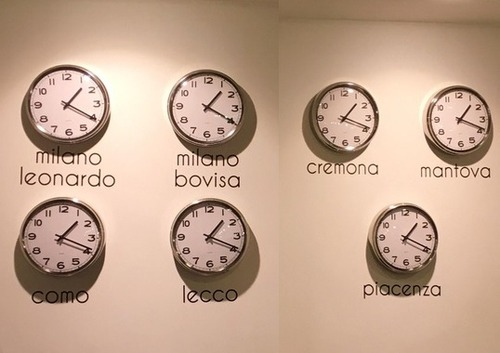 イタリアの大学の時計02