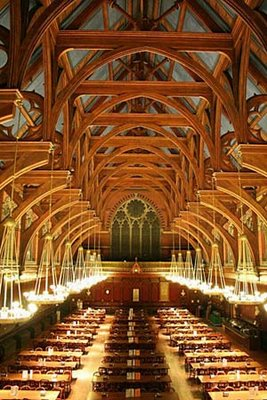 ハーバード大学の食堂07