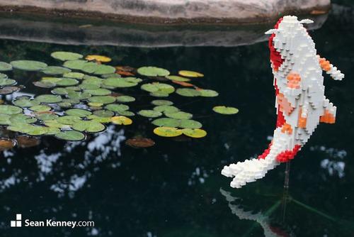 サンアントニオ動物園がレゴの動物を展示12