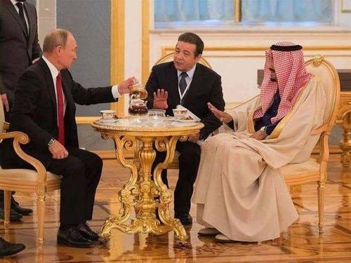 プーチン大統領にティを勧められたときの気持ち01