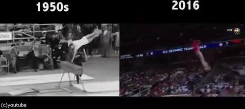 「体操」が50年余りでどれだけ進歩したか03