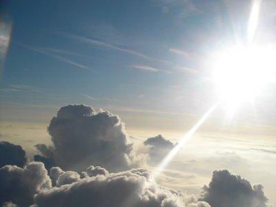 地球の空……
